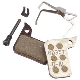 SRAM Road/Level Scheibenbremsbelag Set organisch/aluminium